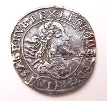 I. Lipót VI krajcár 1674 KB