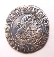 I. Lipót VI krajcár 1671 KB
