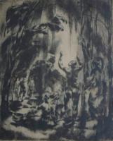 Aba-Novák Vilmos: Fürdőzők, 1922 körül