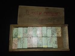 Antik Térkép Dominó EURÓPA doboz árban szinte teli