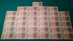 35 db 1930 ÉV MAGYAR ANTIK 100 PENGŐ BANKJEGY KOLLEKCIÓ SZÉP ÁLLAPOTBAN, aUNC jellegű