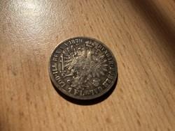 1879 ezüst 1 florin szép patinával