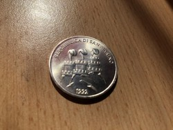 1992 San Marino ezüst 1000 líra 14,6 gramm 0,835 Ritka