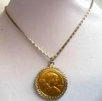 Original Kollektor Gyulytoi 2013 Amerikai Indian Coin Nyaklanc