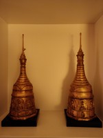 Pair of old stupa