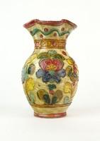 0Q491 Jelzett Olasz Graffito Edipinto kerámia váza