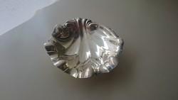 Ezüst 925 ös kagyló alakú kis tálka, ékszertartó,