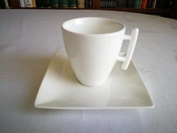 Hosszúkávés / teás csésze alátéttel