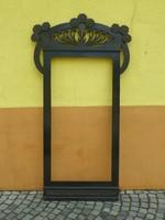 Hatalmas szecessziós tükörkeret