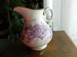 Antik kézzel festett barokk stílusu tejszines kióntő - tej - kiöntő