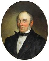 A. Sloff jelzéssel : Idős férfi portréja 1870
