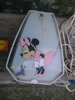 Minnie egeres fali lámpa gyermek szobába
