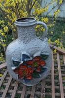 Nagyméretű dekoratív kerámia váza