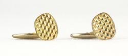 0Q632 Retro aranyszínű mandzsetta pár