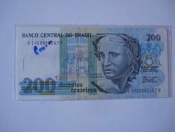Brazilia 200 cruzeiros