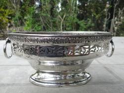 Antik bécsi ezüst tál 294g