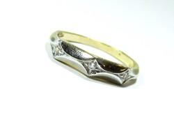 Arany köves gyűrű (Kecs-Au65068)