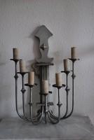 Artdeco hétágú fali lámpa pár