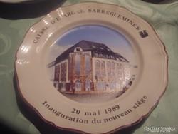 Csodaszép   francia tányér SARREGUEMINES