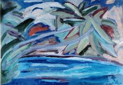 Németh Miklós (1934-2012): Óceán part