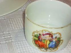 Nagyon régi teás zsolnay sérült