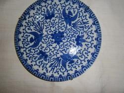 Japán porcelán falitányér