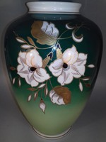 Wallendorf aranyozott porcelán váza