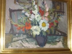 Balogh Ervin Virág csendélet