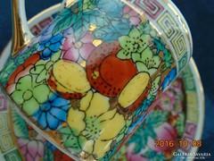 """Jingdezhen""""Ezer virág""""mintás kínai mokkás készlet(1)"""