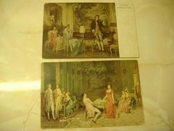 """40. Hadosztály gépuskás-tartalék század Tábori-posta 414"""" címzéssel küldött képeslap: 1917. okt"""