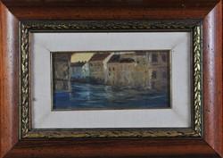 Ismeretlen festő: Velencei látkép