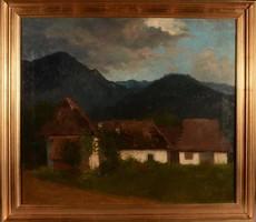 Szepesi Kuszka Jenő (1885-1948): Tátrai házak