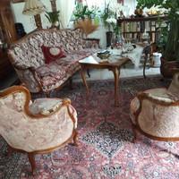 Warrings 4 darabos ülögarnitura 3 fotel + 1 kanapé