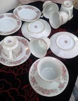 Kínai teás/kávés készlet olcsón eladó. Hibátlan és minden darabja megvan...