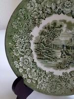 Memory Lane British Anchor sorozat,zöld mintás csésze alátét-15 cm