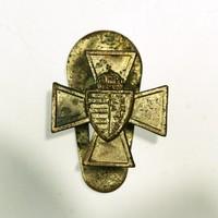 Nemzetvédelmi Keresz mini gomblyuk jelvény