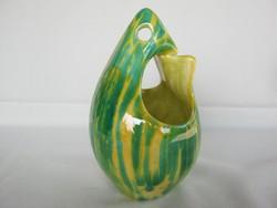 Art deco kerámia madár váza