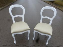 2 db Neobarokk szék.