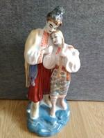 OROSZ porcelán szerelmes párocska nagy méret