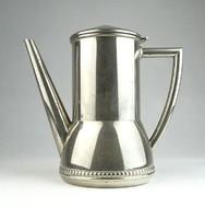 0R185 Retro német jelzett fém kávékiöntő