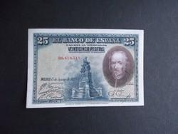 Spanyolország - 25 peseta 1928