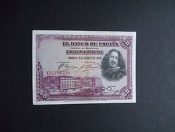Spanyolország - 50 peseta 1928
