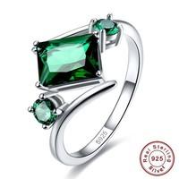 Zöld köves gyűrű 6-os ÚJ!