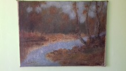 Csabai Pántl L. jelzéssel  olaj - vászon  festmény