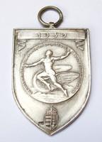 MÁV Sportegyesületeinek Ligája 1939 ezüst érem, atlétika ifj.I.díj.
