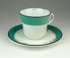 0Q923 Antik CARLSBAD porcelán kávéscsésze