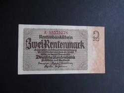 Németország - 2 rentenmark 1937
