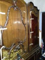 Cseresznyefa antik szekrény
