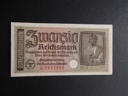 Németország - 20 reichsmark én.