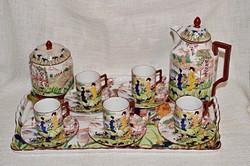 Álom szép régi Viktoria Japán mintás kávéskészlet 5 személyre